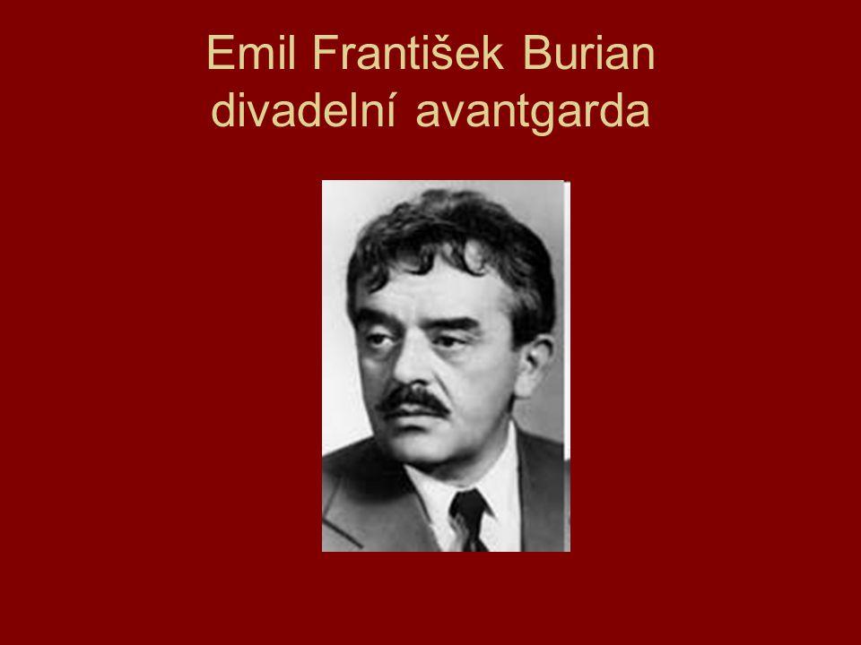 Emil František Burian divadelní avantgarda