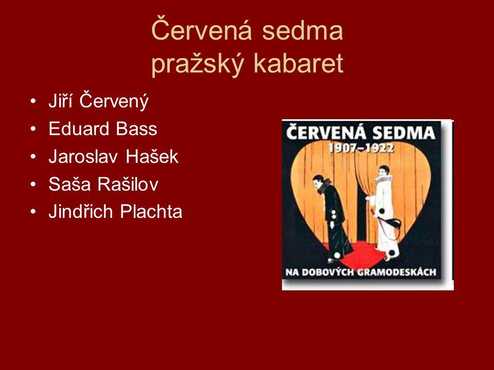 Červená sedma pražský kabaret