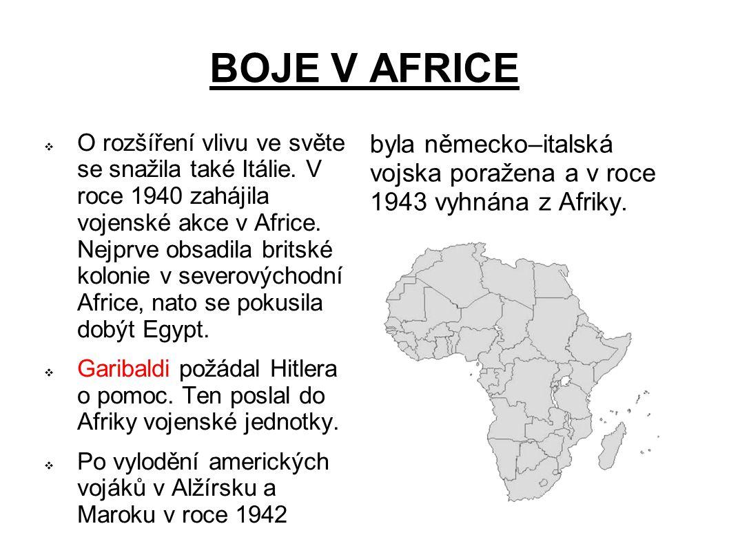 BOJE V AFRICE
