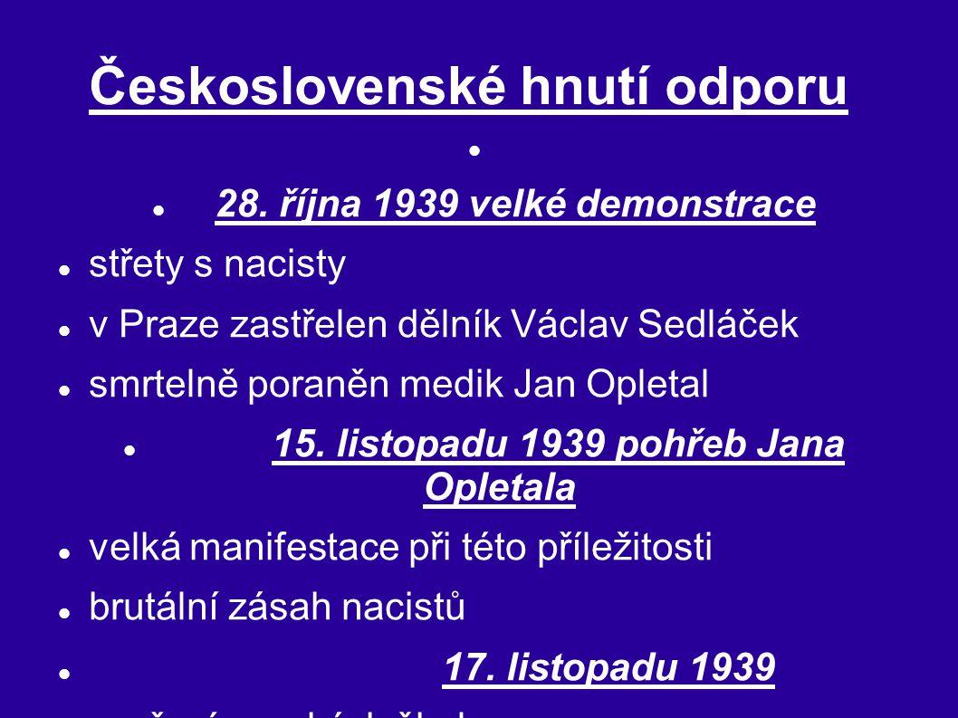 Československé hnutí odporu