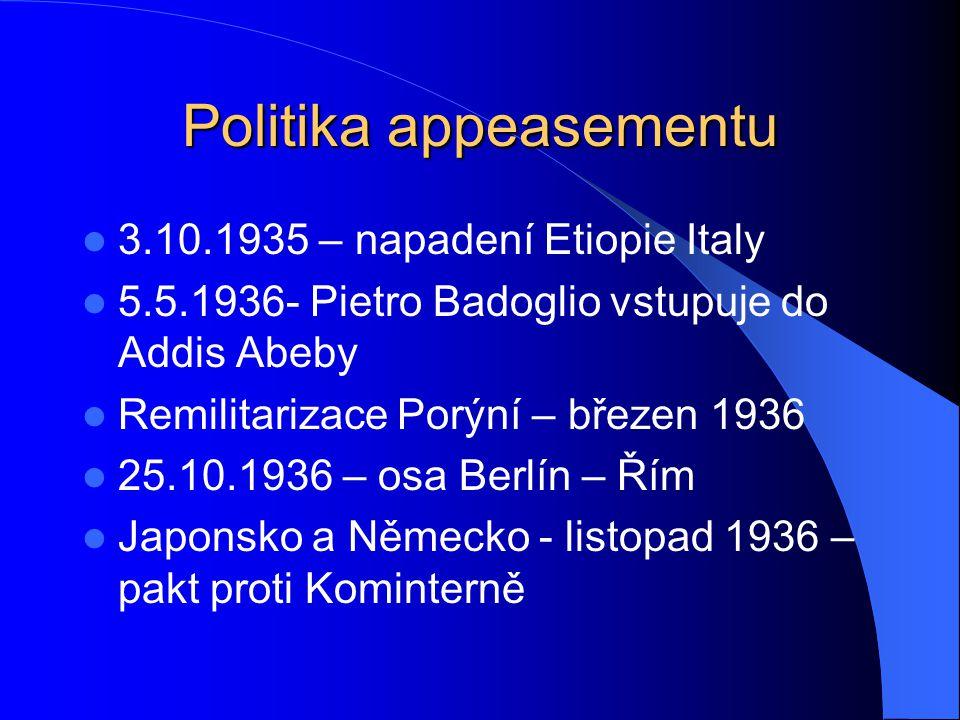 Politika appeasementu