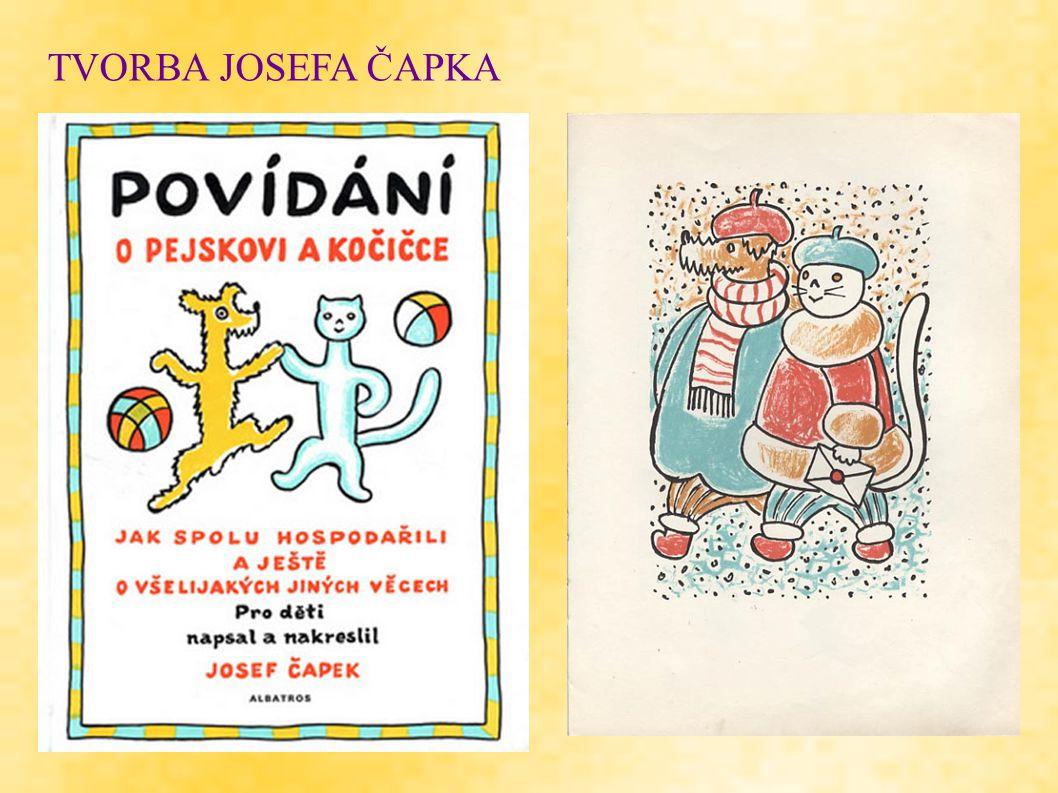TVORBA JOSEFA ČAPKA