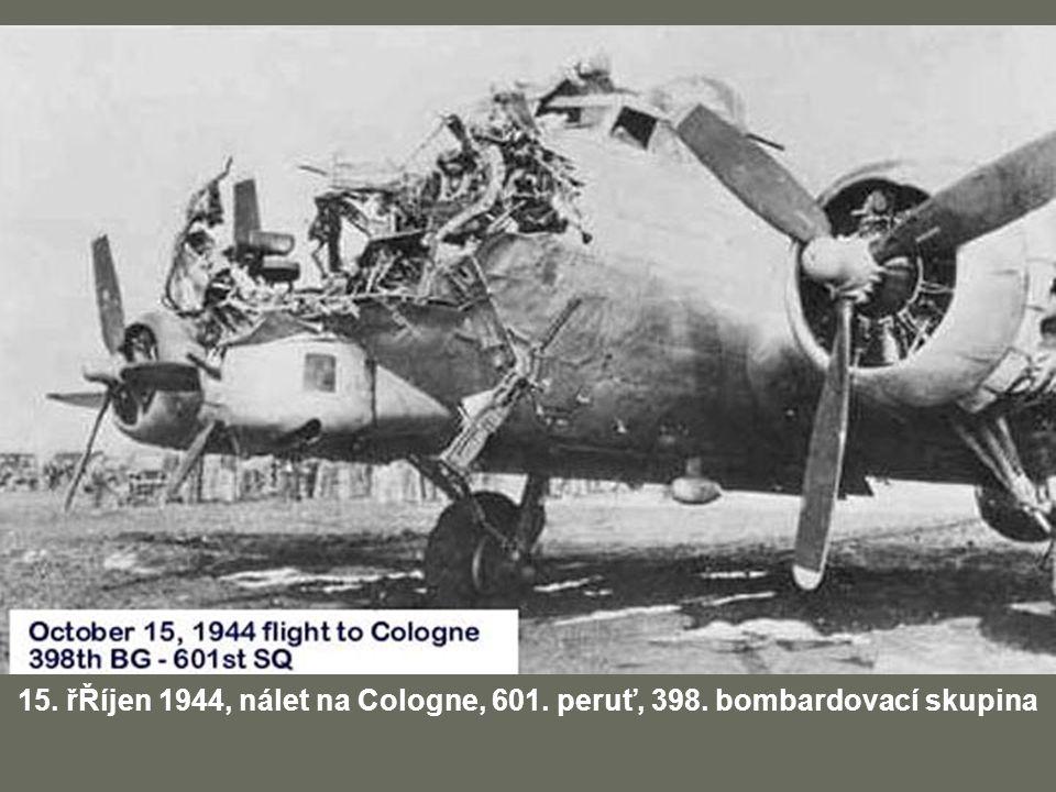 15. řŘíjen 1944, nálet na Cologne, 601. peruť, 398