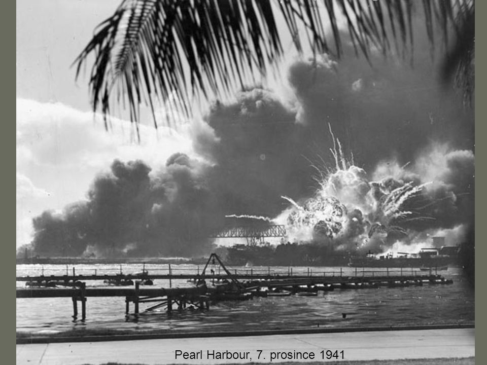 Pearl Harbour, 7. prosince 1941