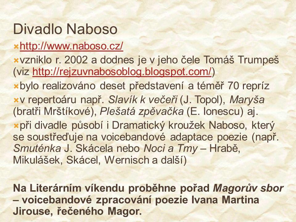 Divadlo Naboso http://www.naboso.cz/