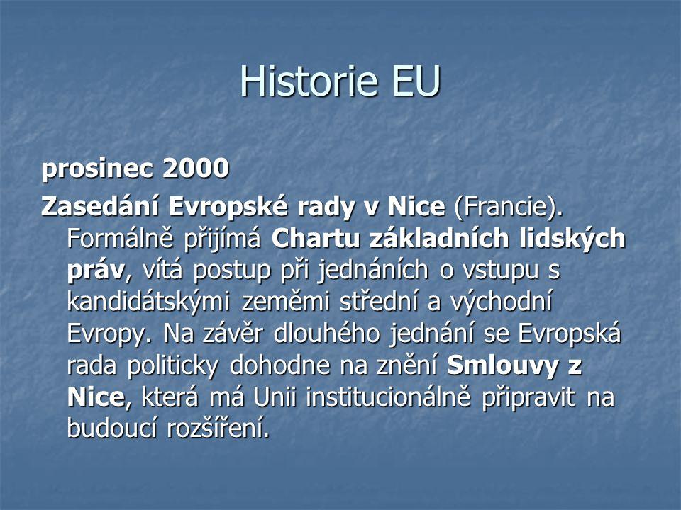 Historie EU prosinec 2000.