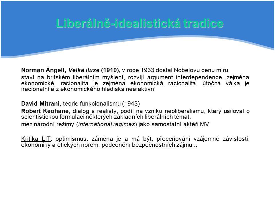 Liberálně-idealistická tradice