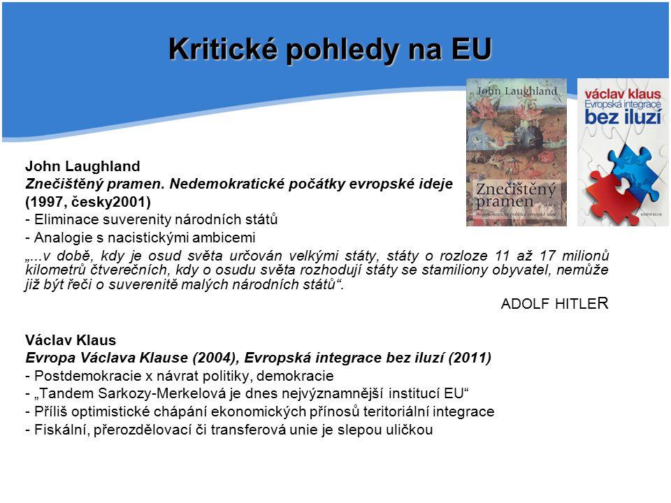Kritické pohledy na EU John Laughland