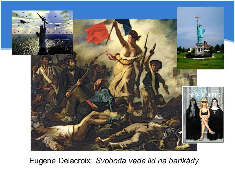 Eugene Delacroix: Svoboda vede lid na barikády