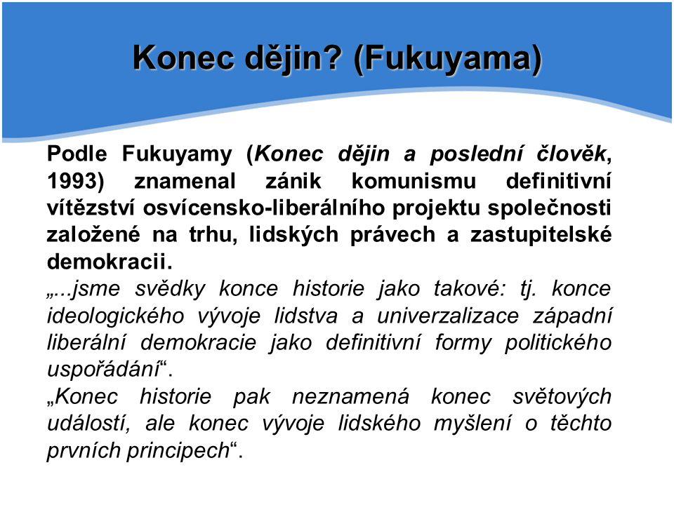 Konec dějin (Fukuyama)