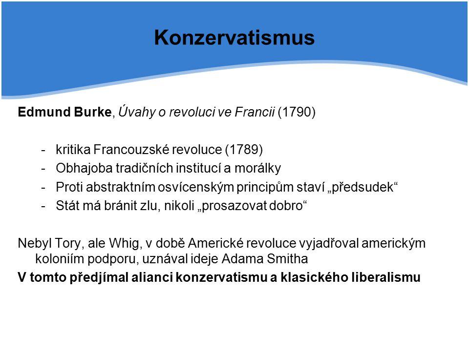 Konzervatismus Edmund Burke, Úvahy o revoluci ve Francii (1790)