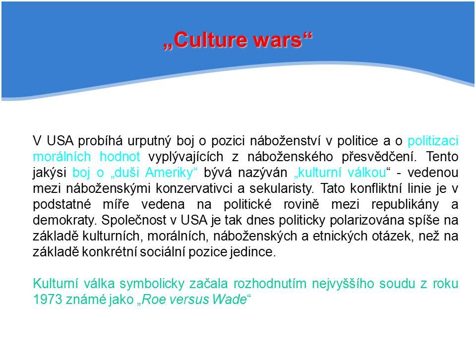 """""""Culture wars"""