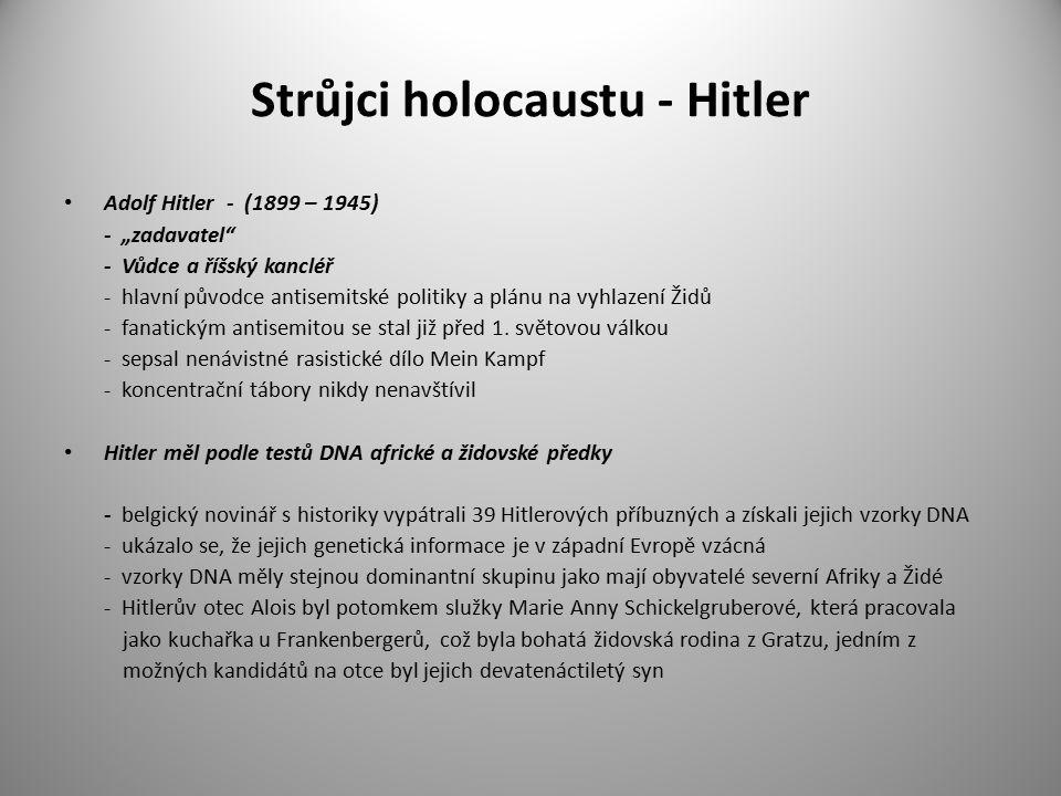 Strůjci holocaustu - Hitler