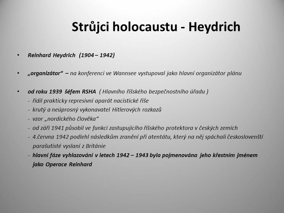 Strůjci holocaustu - Heydrich