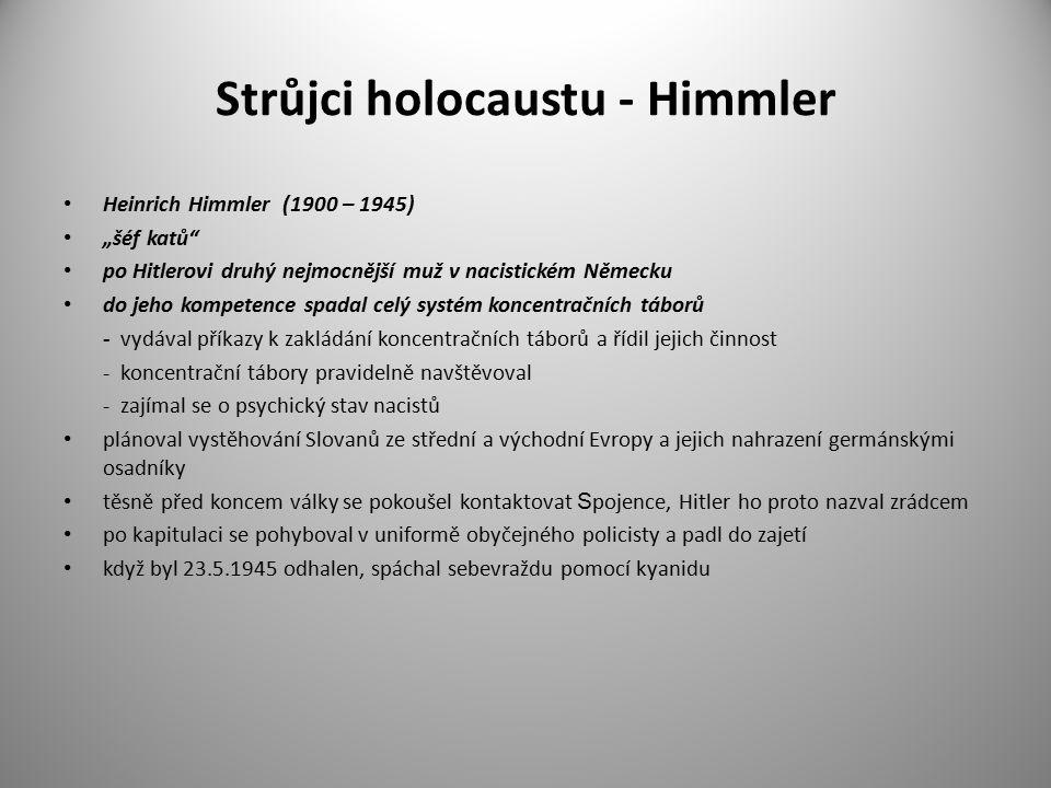 Strůjci holocaustu - Himmler