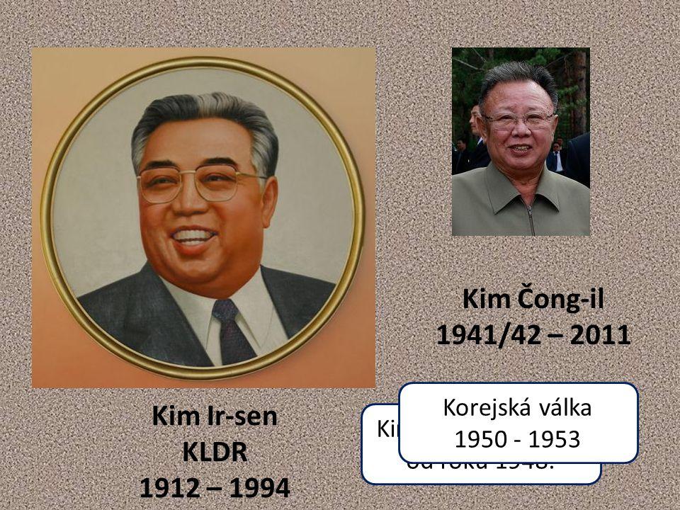 Kimové v čele KLDR od roku 1948.