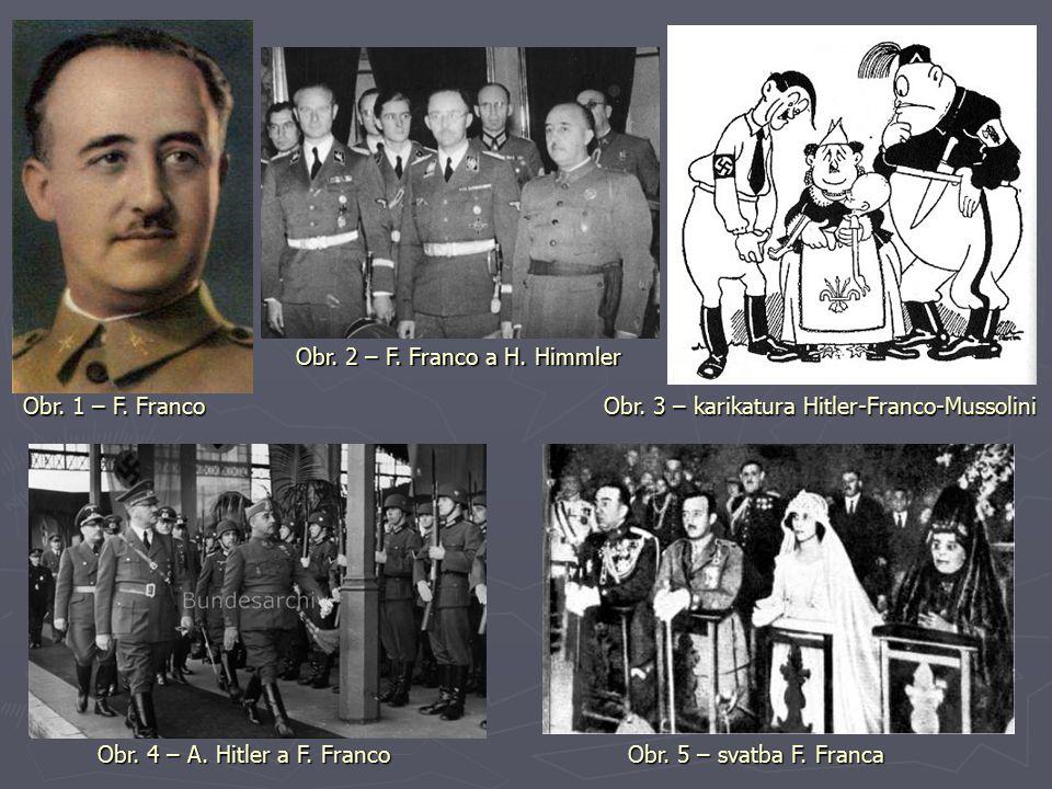 Obr. 2 – F. Franco a H. Himmler