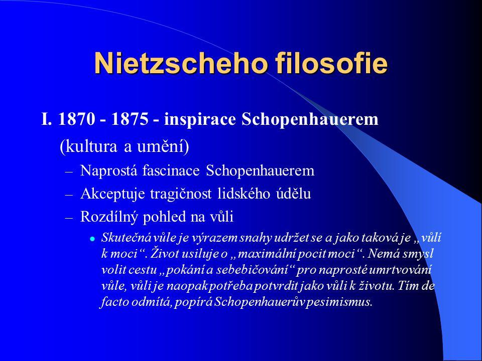 Nietzscheho filosofie