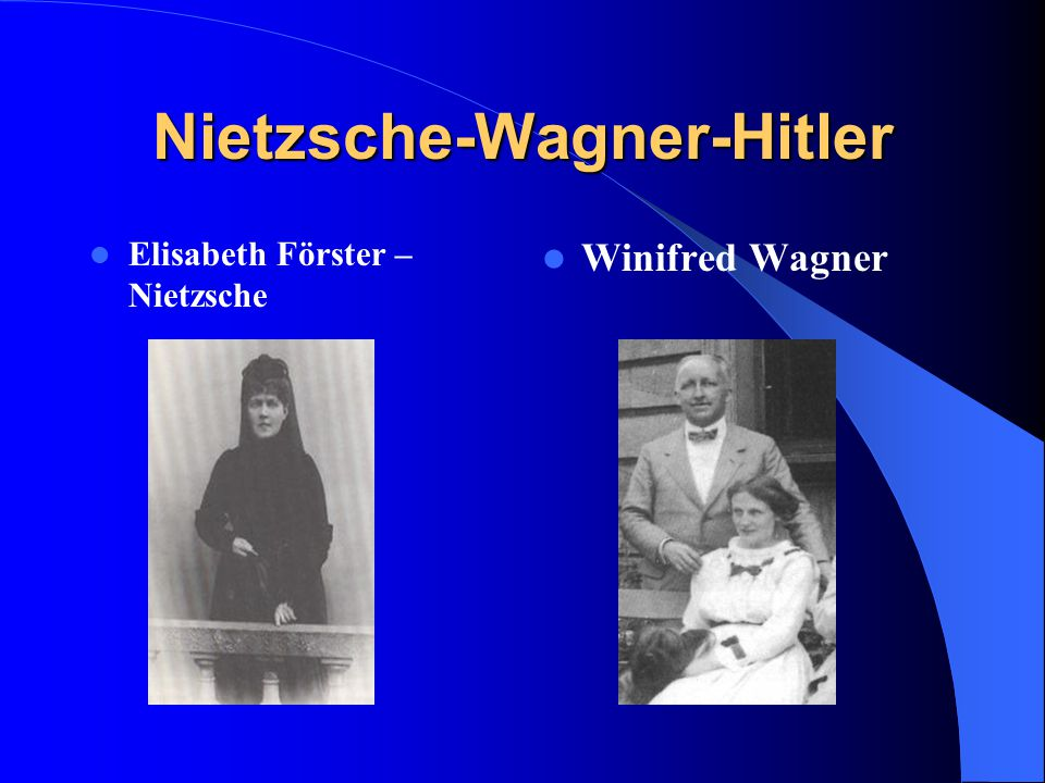 Nietzsche-Wagner-Hitler