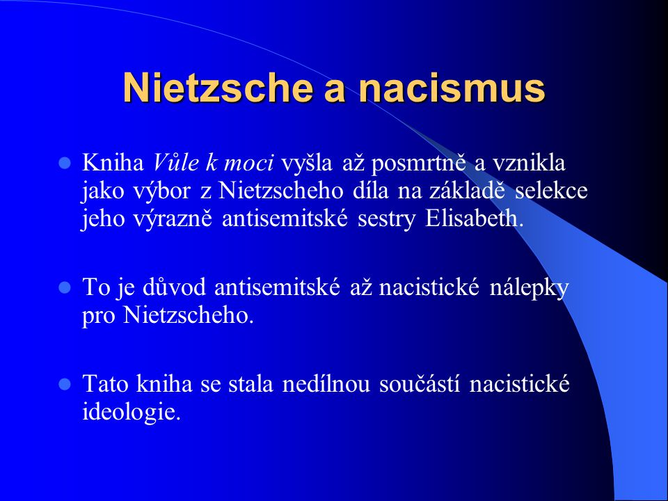 Nietzsche a nacismus