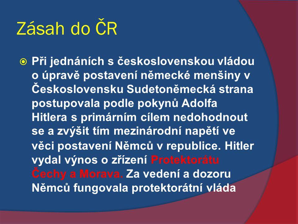Zásah do ČR