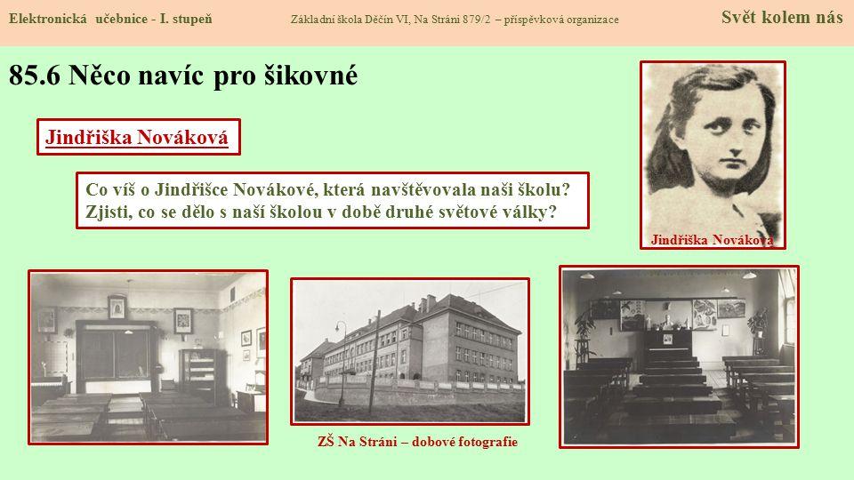 ZŠ Na Stráni – dobové fotografie