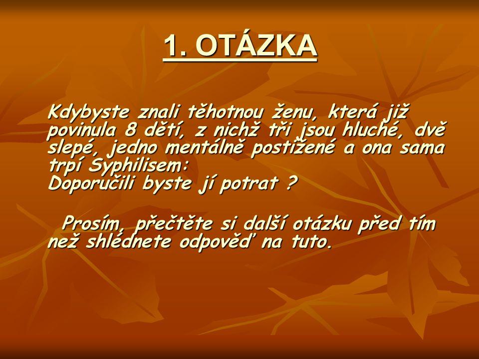 1. OTÁZKA
