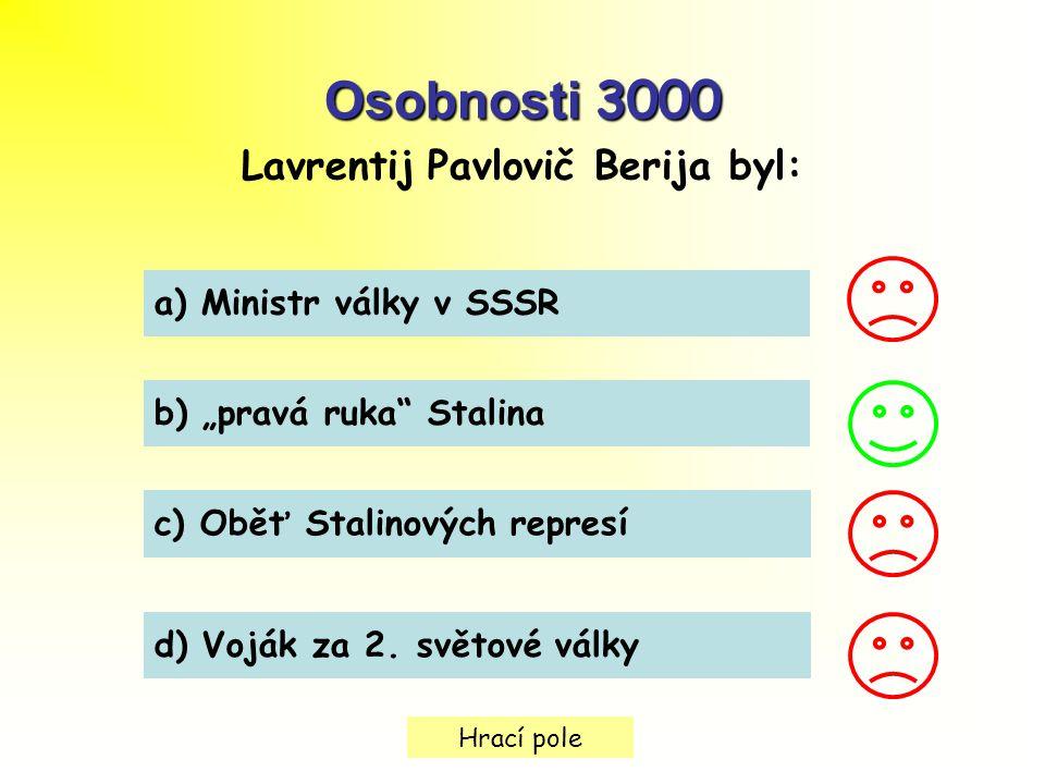 Lavrentij Pavlovič Berija byl: