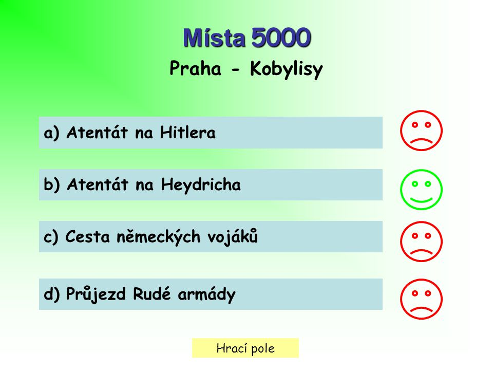 Místa 5000 Praha - Kobylisy a) Atentát na Hitlera
