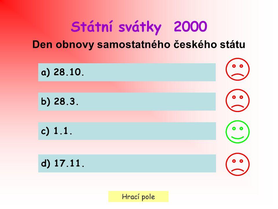 Den obnovy samostatného českého státu