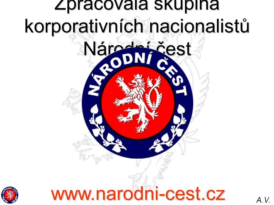Zpracovala skupina korporativních nacionalistů Národní čest