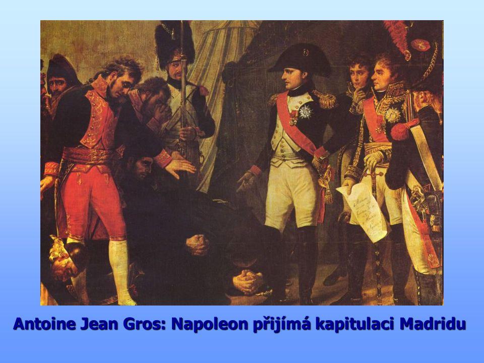 Antoine Jean Gros: Napoleon přijímá kapitulaci Madridu