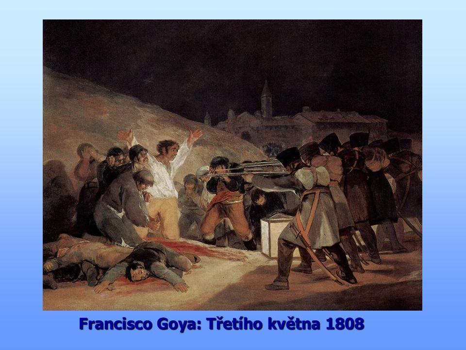 Francisco Goya: Třetího května 1808