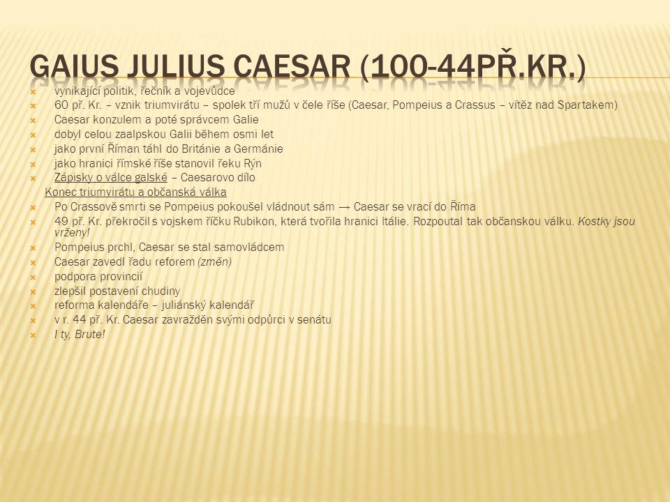 Gaius Julius Caesar (100-44př.Kr.)