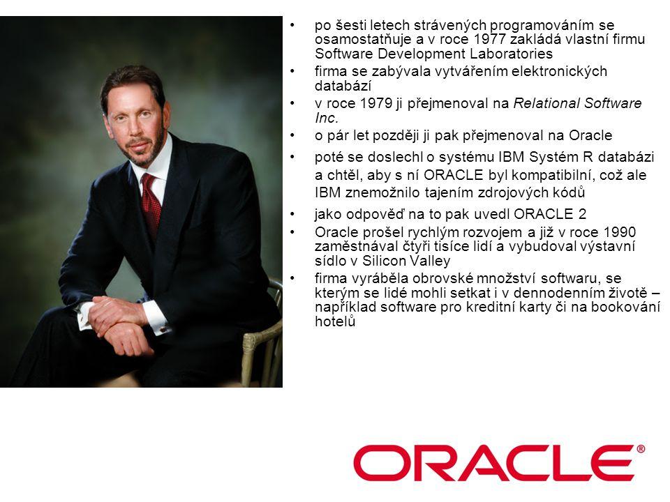 po šesti letech strávených programováním se osamostatňuje a v roce 1977 zakládá vlastní firmu Software Development Laboratories