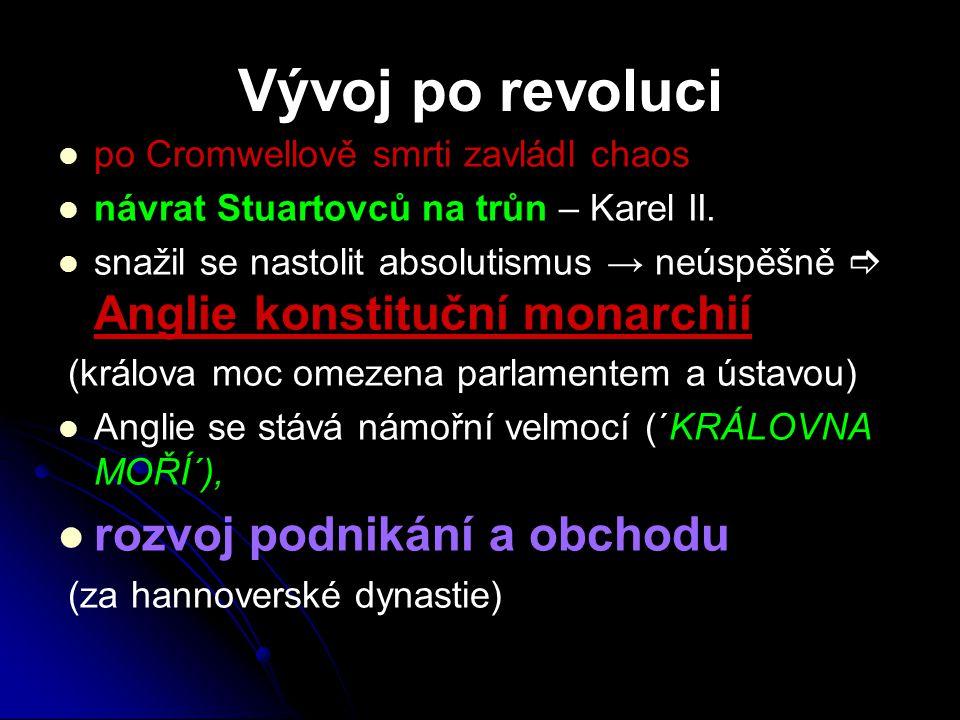 Vývoj po revoluci rozvoj podnikání a obchodu
