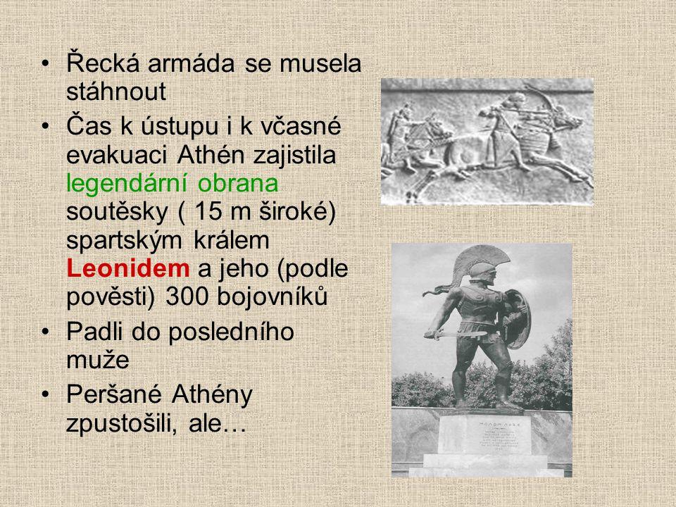 Řecká armáda se musela stáhnout