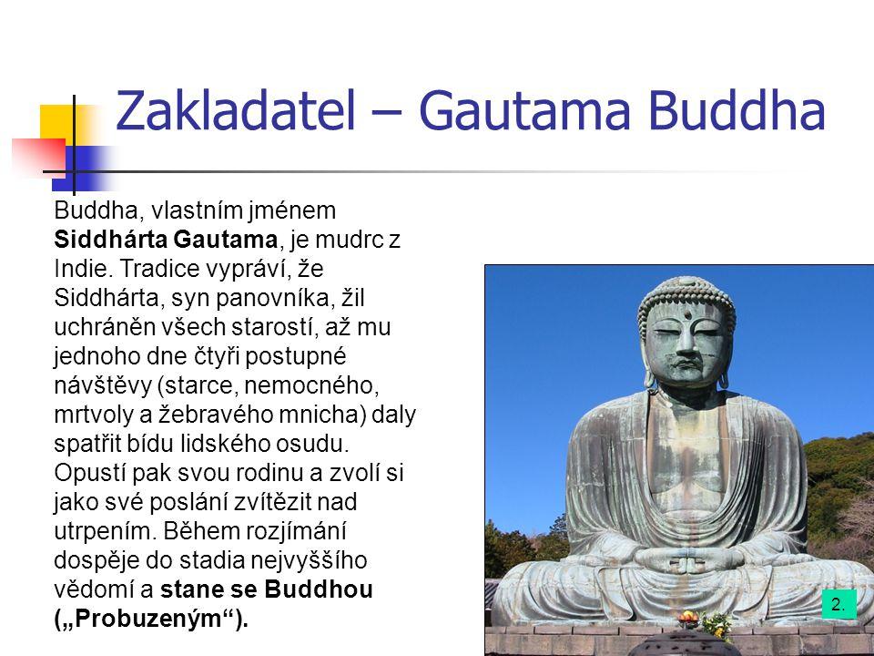 Zakladatel – Gautama Buddha
