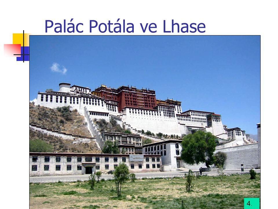 Palác Potála ve Lhase 4.