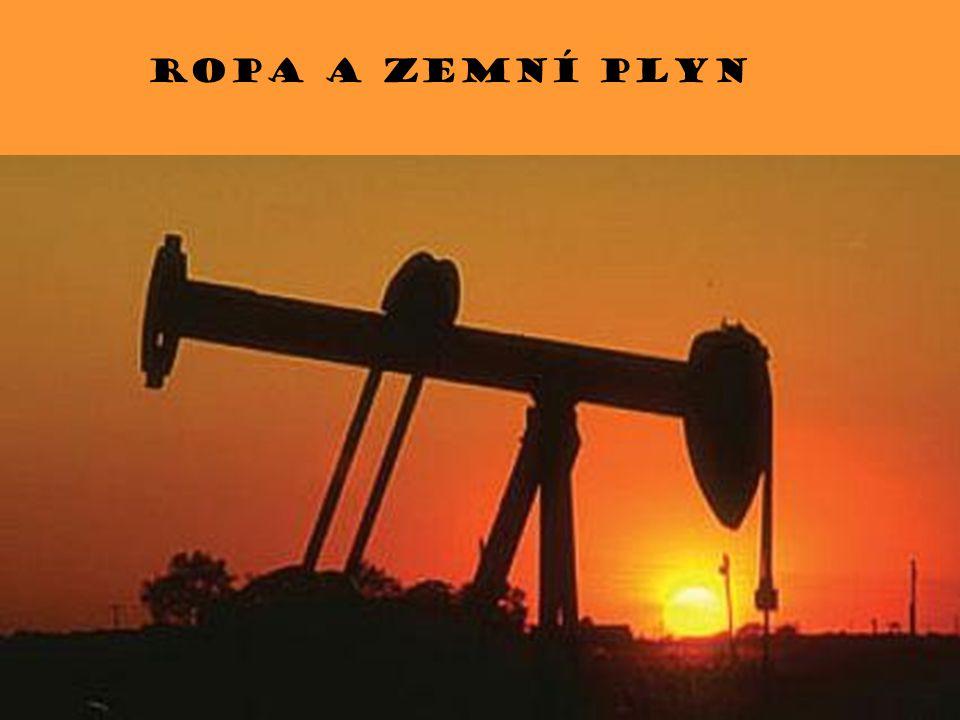 Ropa a zemní plyn