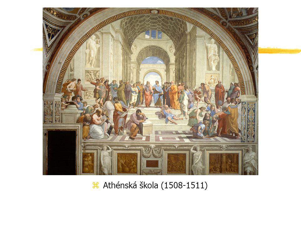 Athénská škola (1508-1511)