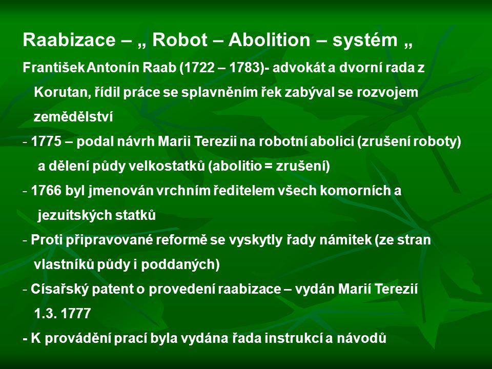 """Raabizace – """" Robot – Abolition – systém """""""