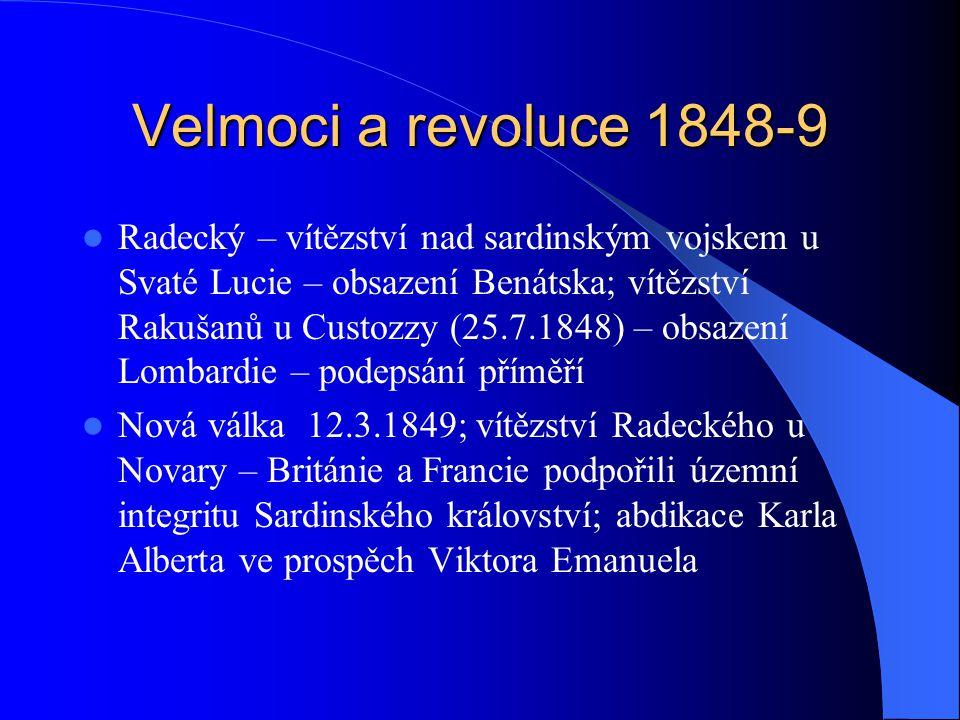 Velmoci a revoluce 1848-9