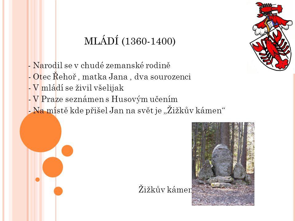 MLÁDÍ (1360-1400)