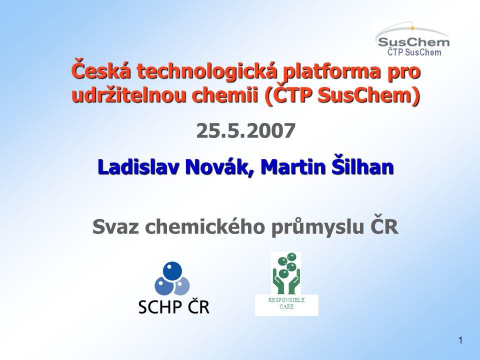 Česká technologická platforma pro udržitelnou chemii (ČTP SusChem)