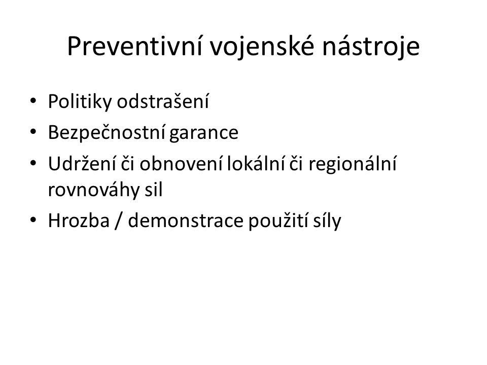 Preventivní vojenské nástroje