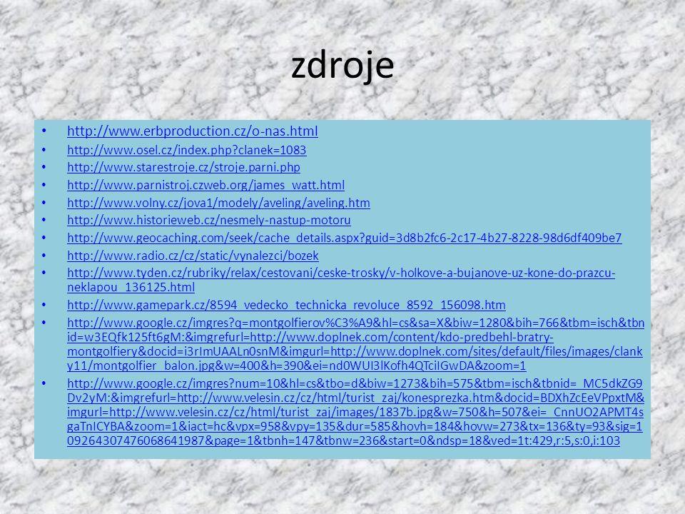 zdroje http://www.erbproduction.cz/o-nas.html