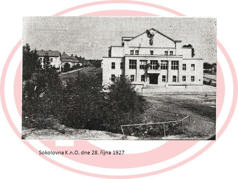 Sokolovna K.n.O. dne 28. října 1927