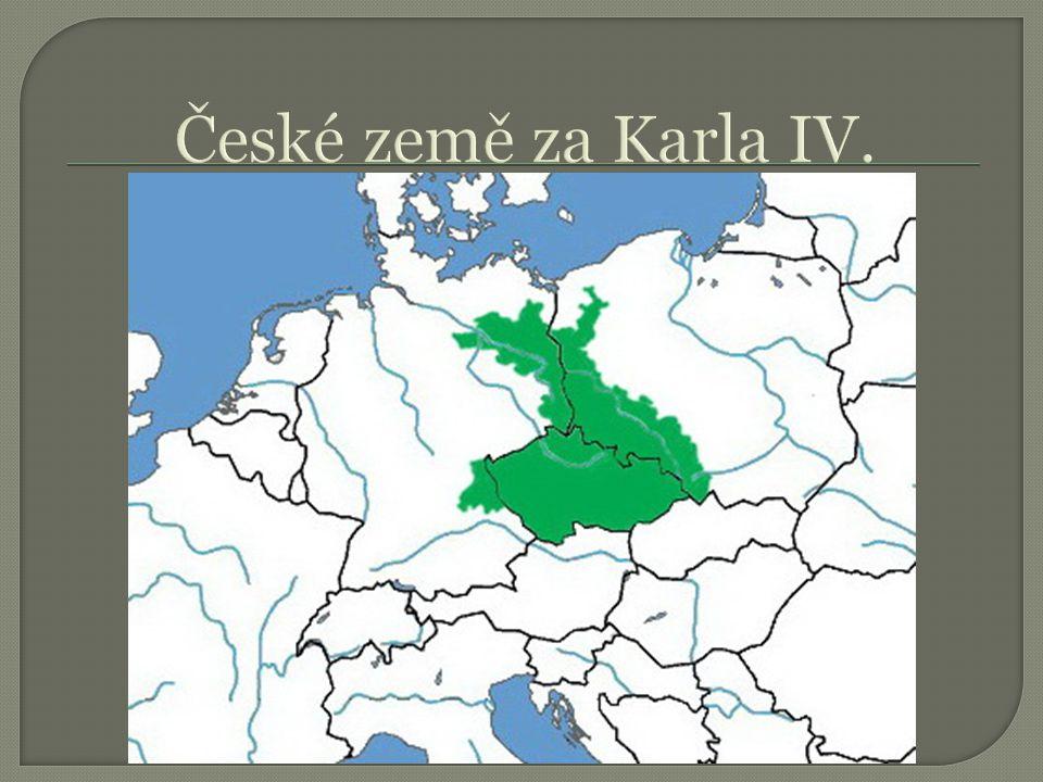 České země za Karla IV.