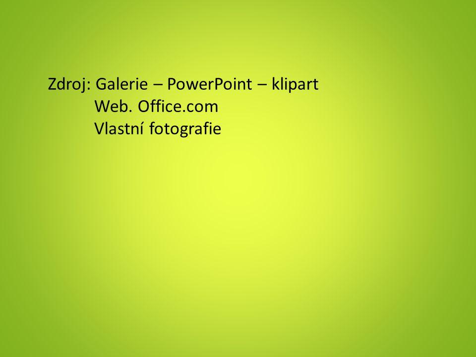 Zdroj: Galerie – PowerPoint – klipart